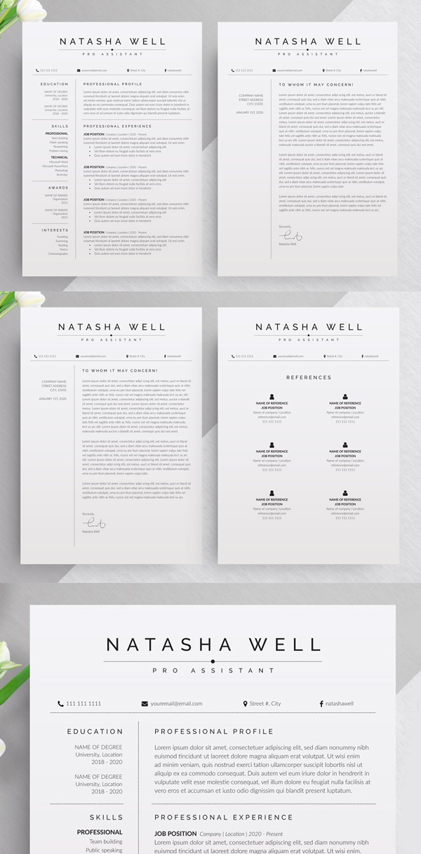 Corporate Resume / CV