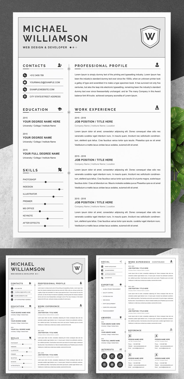 Resume Resume | Clean & Professional