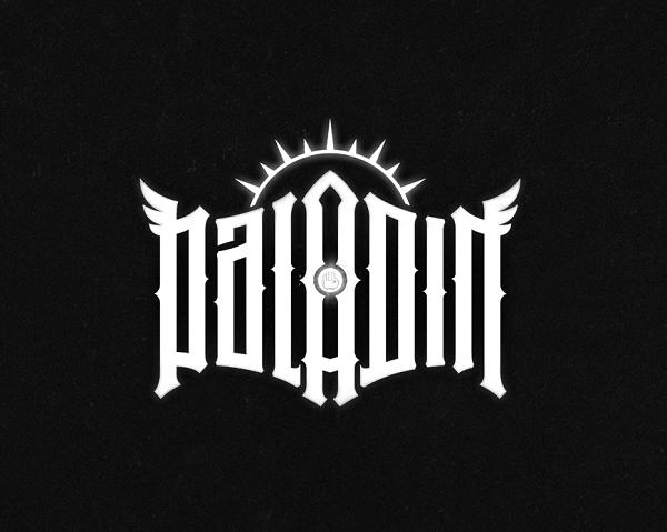Warcraft lettering - Paladin