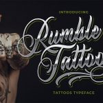 30+ Free Tattoo Fonts (Download Now to Use)