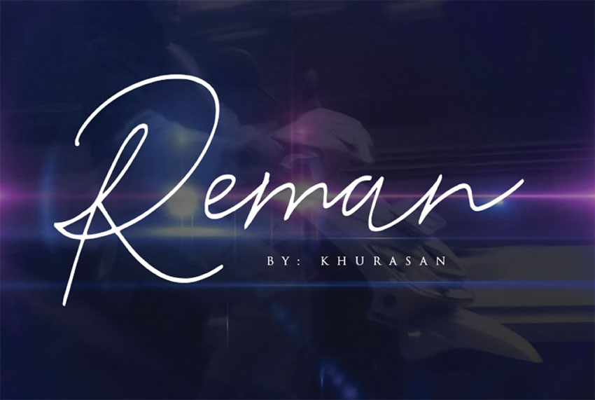 Reman Free Signature Fonts