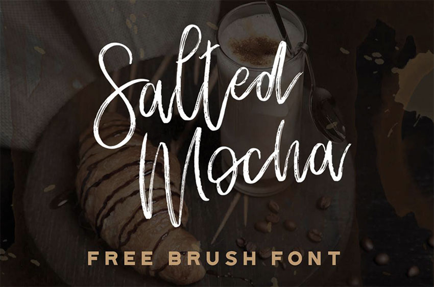 Salted Mocha - Signature Like Font