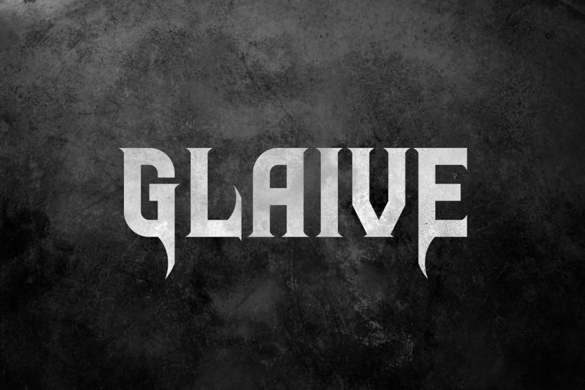 glaive gothic blackletter font