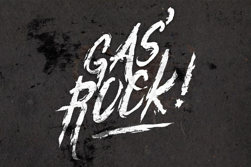 GasRock Font