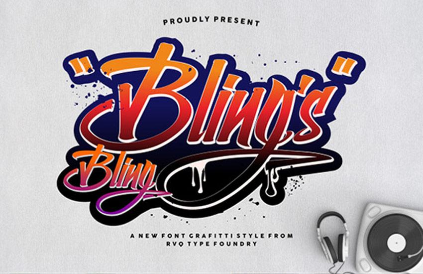 Bling Blings Font