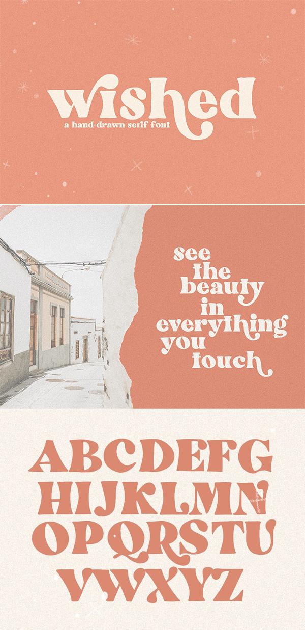 Wished   Hand-drawn Serif Font