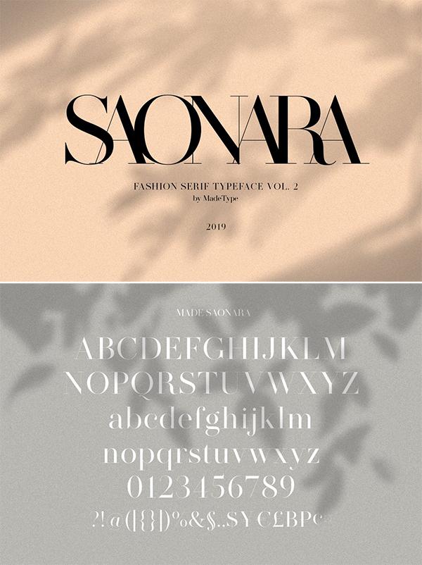 Sonara Serif Font