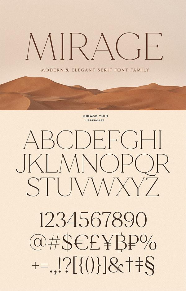 Mirage Elegant Font
