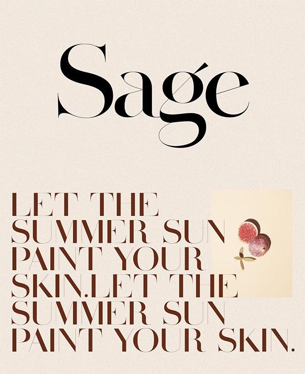 Sage Serif Font