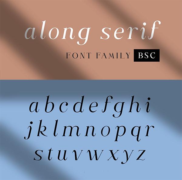 Along Serif BSC Font