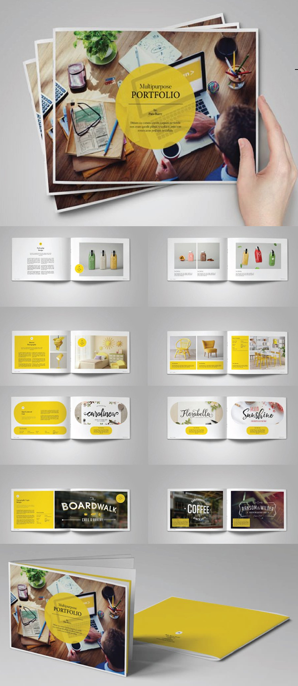 Portfolio Template Indesign