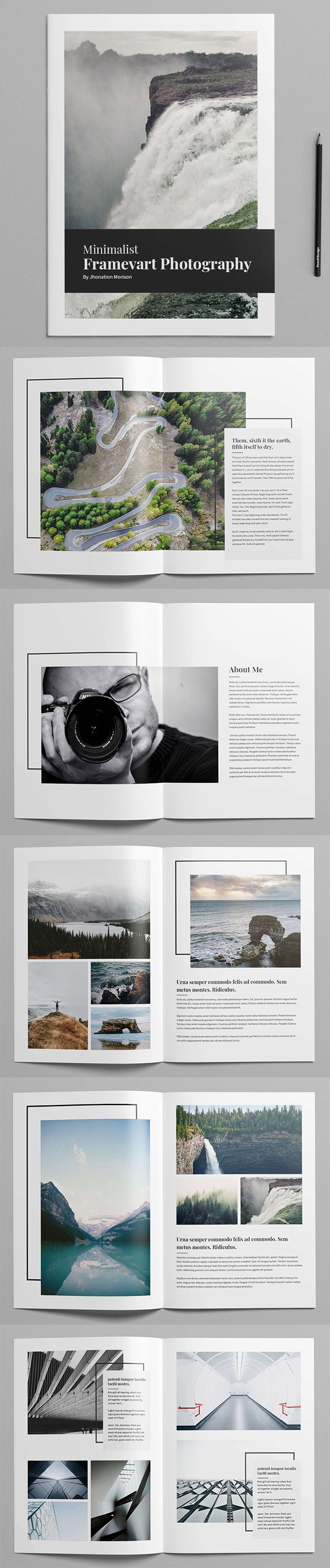 Perfect Photography Portfolio Template