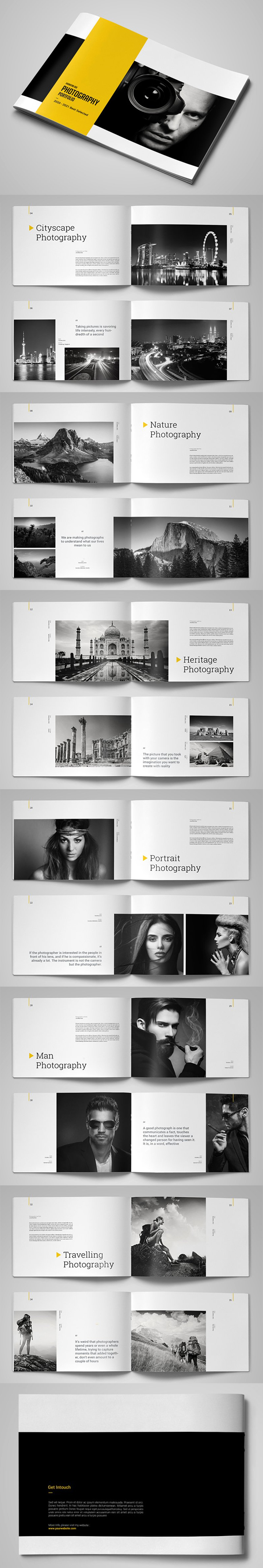 Creative Photography Portfolio Template