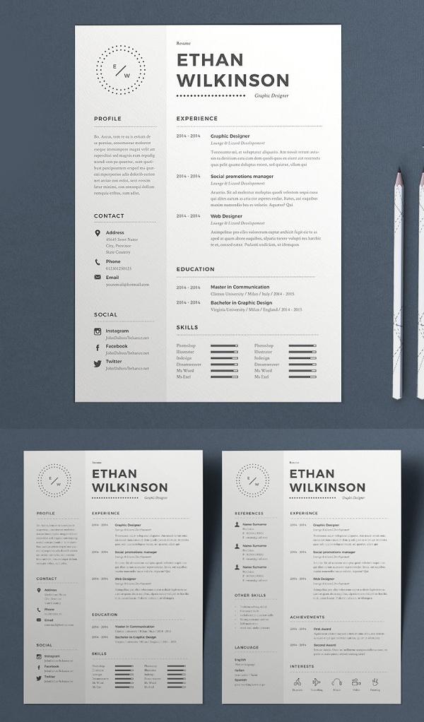 Resume Ethan