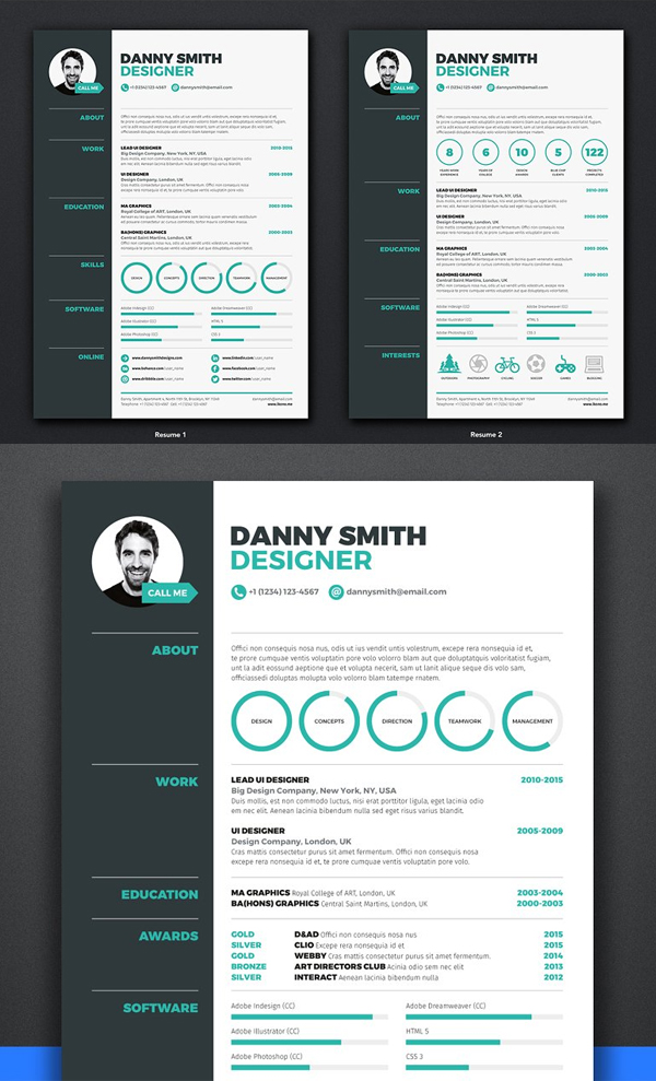 Best Resume / CV Template