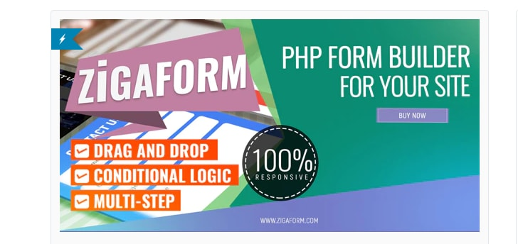 Zigaform PHP Form Builder Contact and Survey