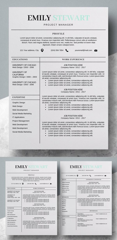 Modern Resume Template | CV