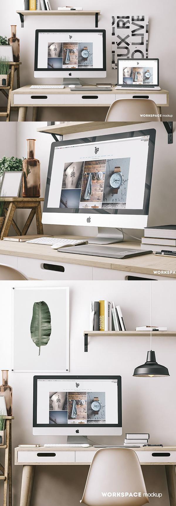 Workspace Mockup Set
