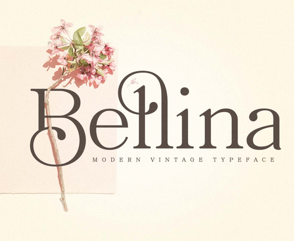 Bellina Serif Free Font