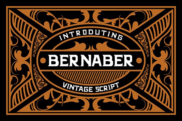 Bernaber Free Font