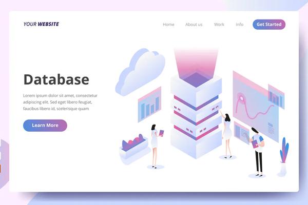 Database - Landing Page