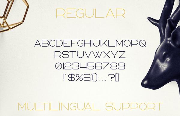 Bosnia Font Letters