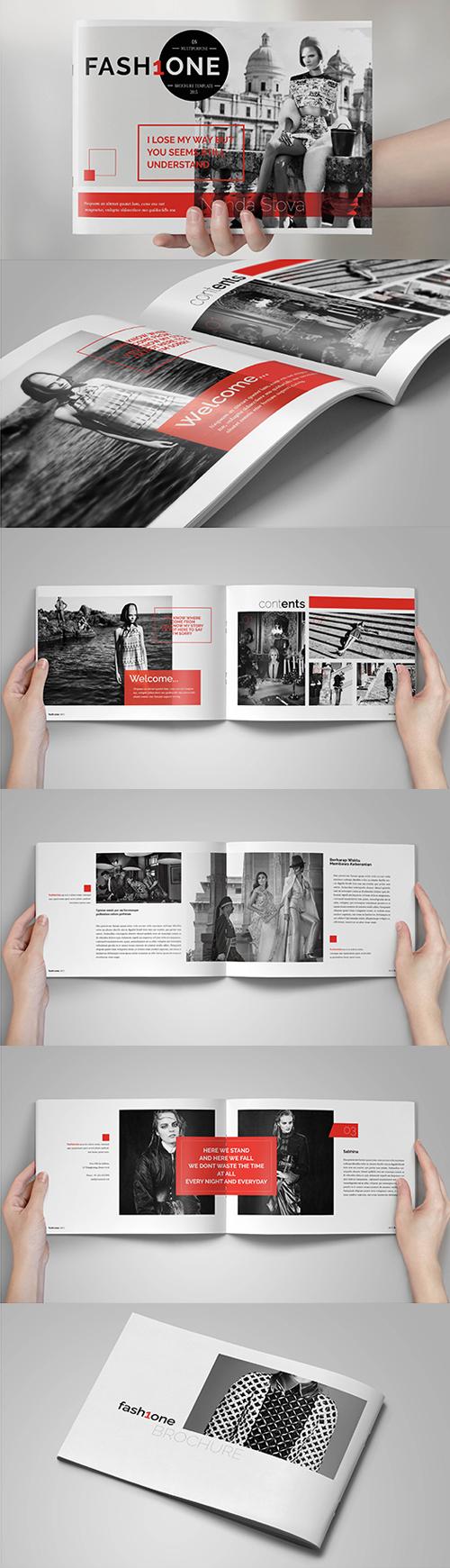 Multipurpose Fashion Brochure Template