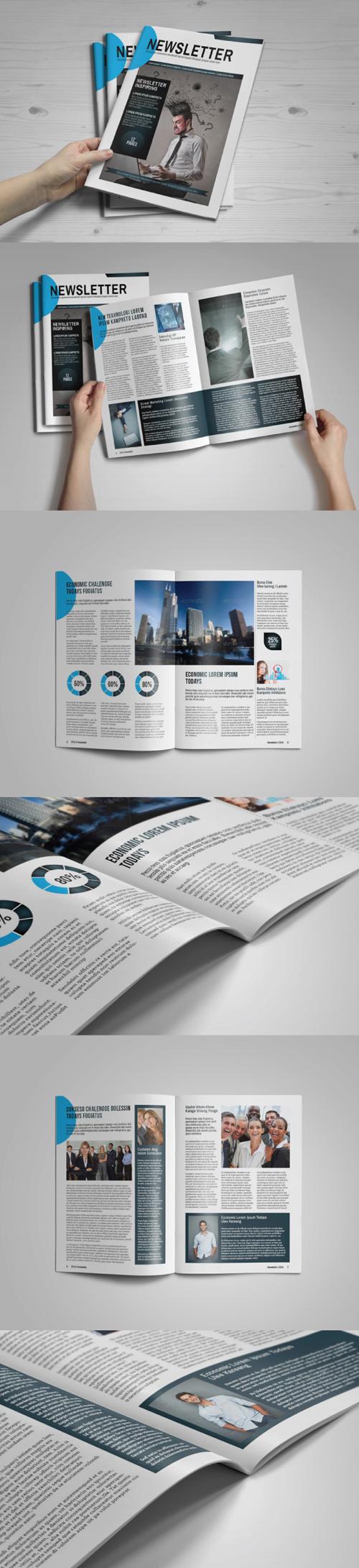Multipurpose Newsletter Brochure Template