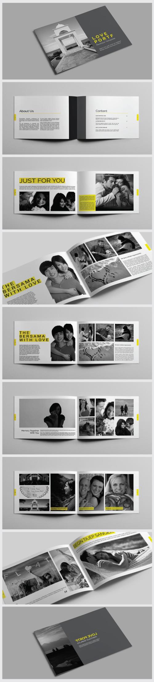 A4 / A5 Portfolio / Brochure Template