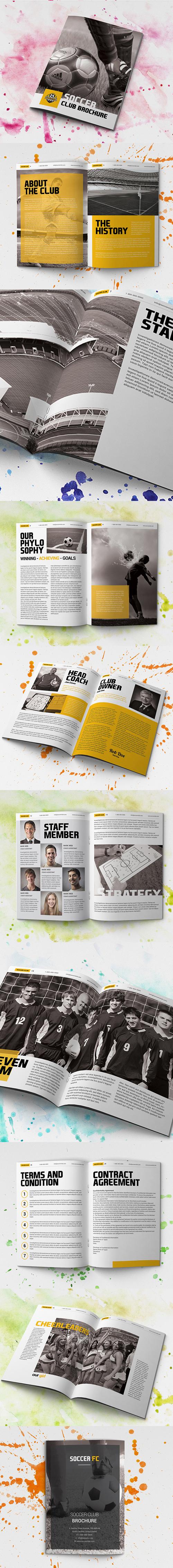 Soccer Club Brochure – Corporate Brochures