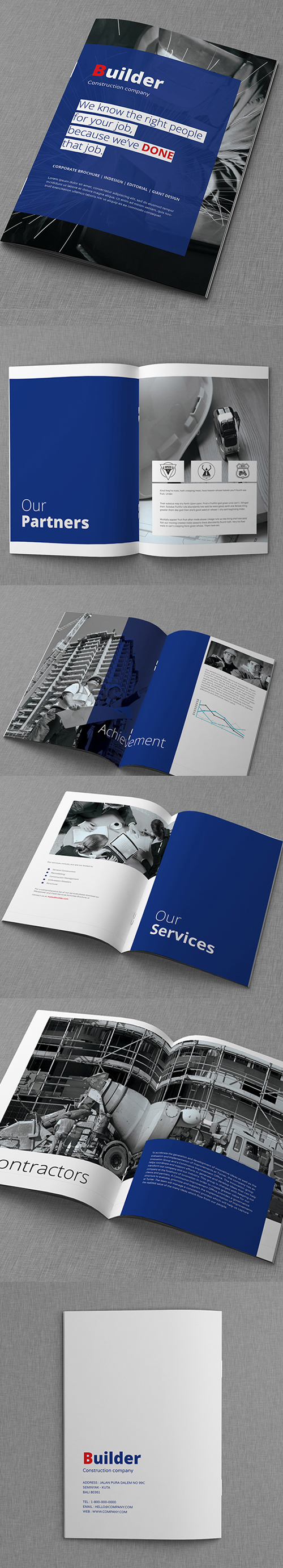 Creative Company Profile Brochure Template