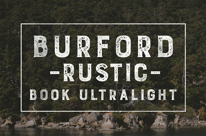Burford Rustic Book UltraLight
