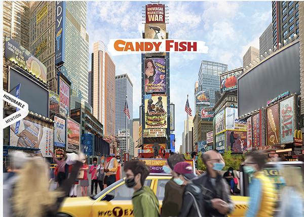 CANDY FISH - Illustation in Website Design