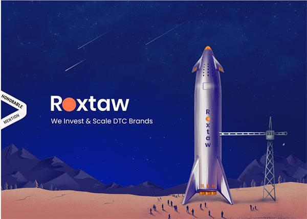 Roxtaw - Illustation in Website Design
