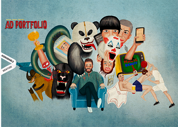 Anton Chalov - AD Portfolio - Illustation in Website Design