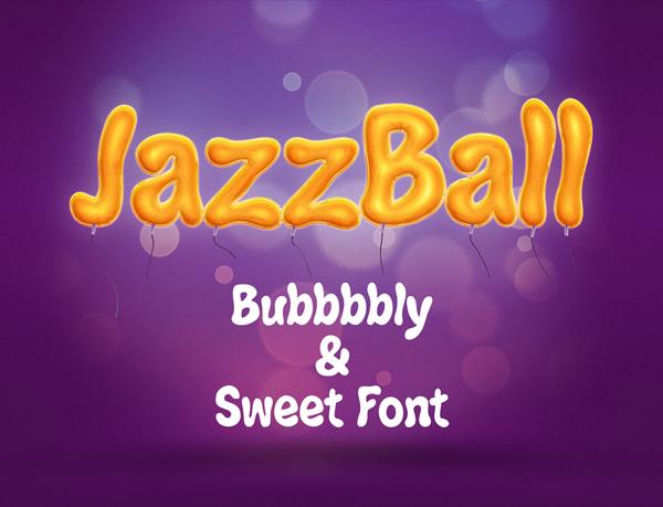 JazzBall Free Font