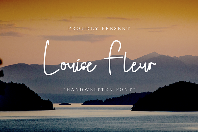 Louise Fleur Handwritten Free Font