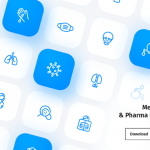 65 Free medical & pharma icons