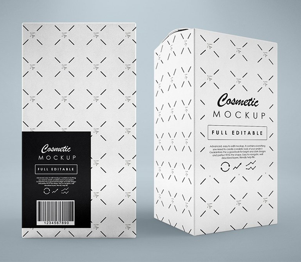 3D Box / Package Mock-Up