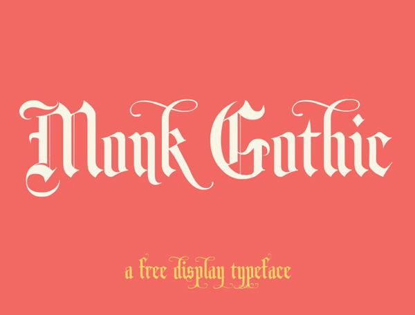 Monk Free Font