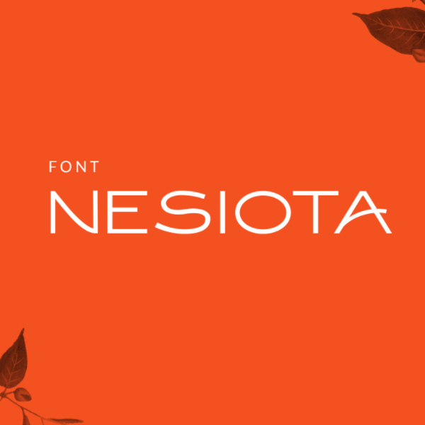 Nesiota Free Font