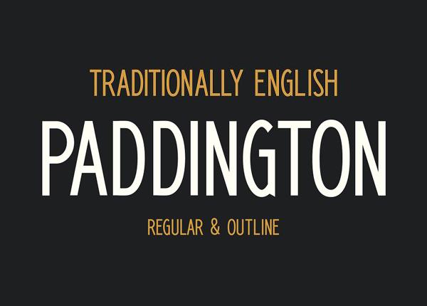 Paddington Free Font