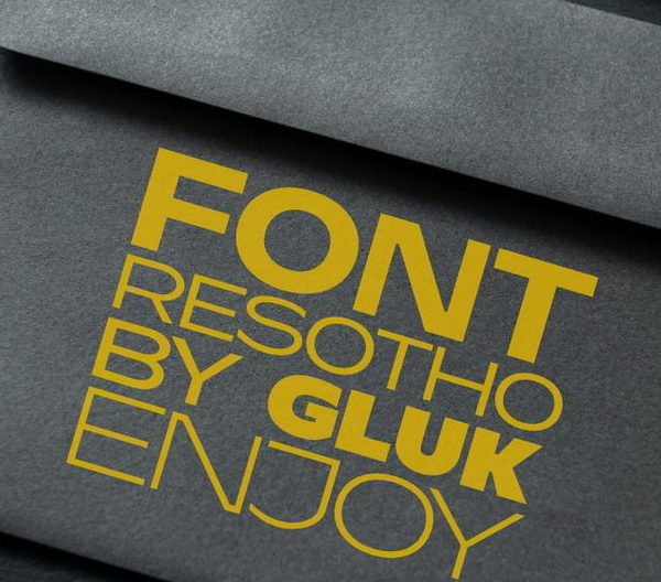 Resotho Free Font