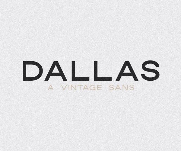 Dallas | A Vintage Sans Font