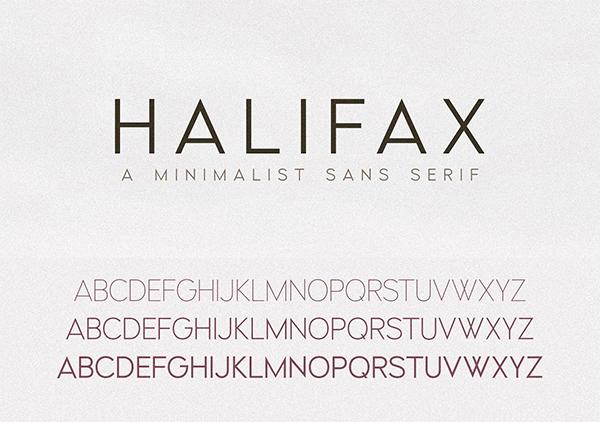 Halifax | A Modern Minimalist Sans