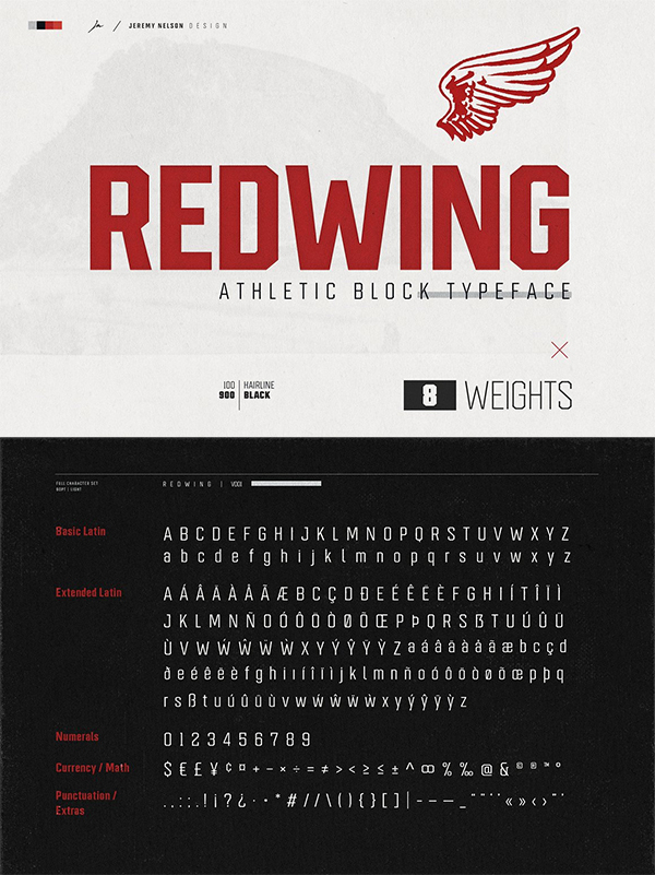 Redwing Font