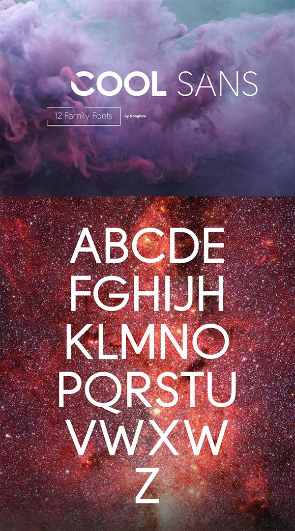 Cool Sans Family Font