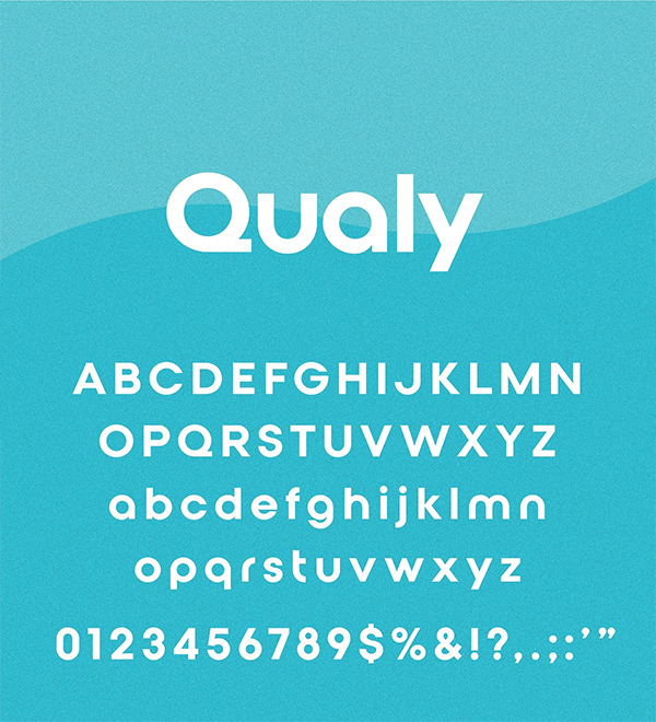 Qualy - Logo Font