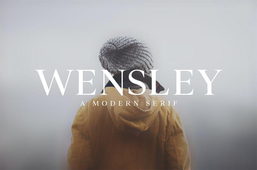 Wensley Times New Roman alternative