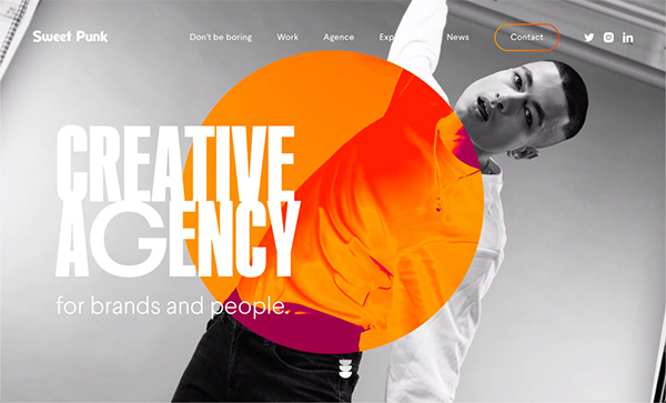 Web Design: 27 Modern Website UI / UX Design Examples - 24